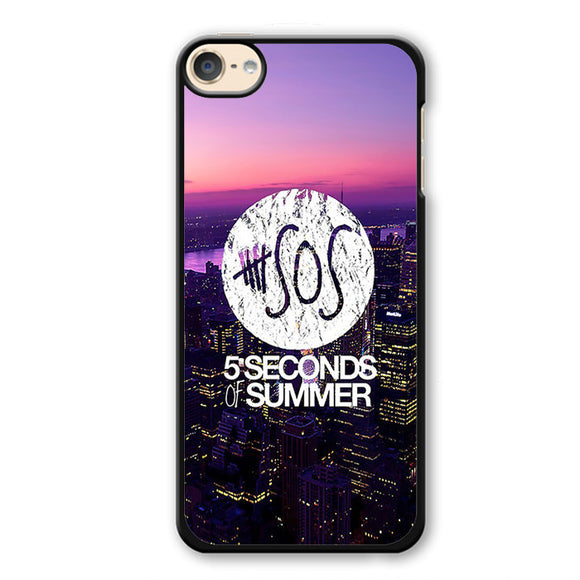 5 Seconds Of Summer City Logo Cool Band TATUM-81 Apple Phonecase Cover For Ipod Touch 4, Ipod Touch 5, Ipod Touch 6 - tatumcase