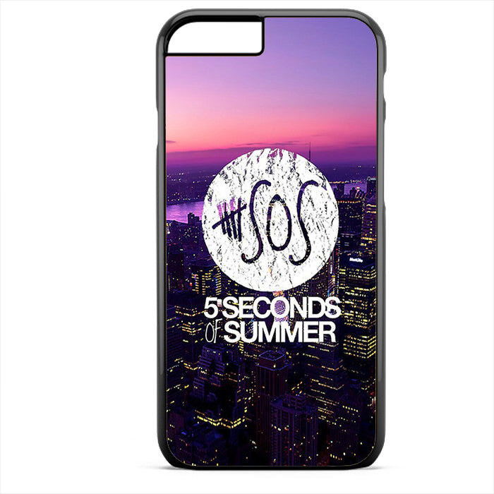 5 Seconds Of Summer City Logo Cool Phonecase For Iphone 4/4S Iphone 5/5S Iphone 5C Iphone 6 Iphone 6S Iphone 6 Plus Iphone 6S Plus