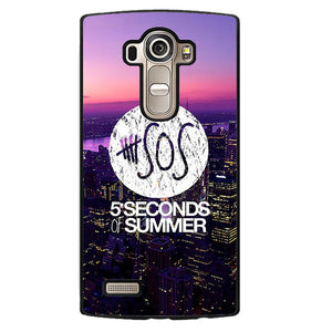 5 Seconds Of Summer City Logo Cool Phonecase Cover Case For LG G3 LG G4 - tatumcase