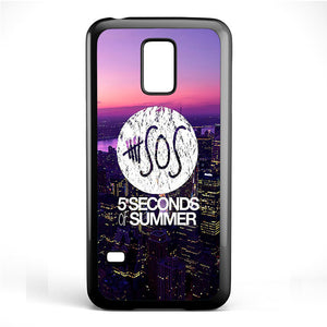 5 Seconds Of Summer City Logo Cool Phonecase Cover Case For Samsung Galaxy S3 Mini Galaxy S4 Mini Galaxy S5 Mini - tatumcase
