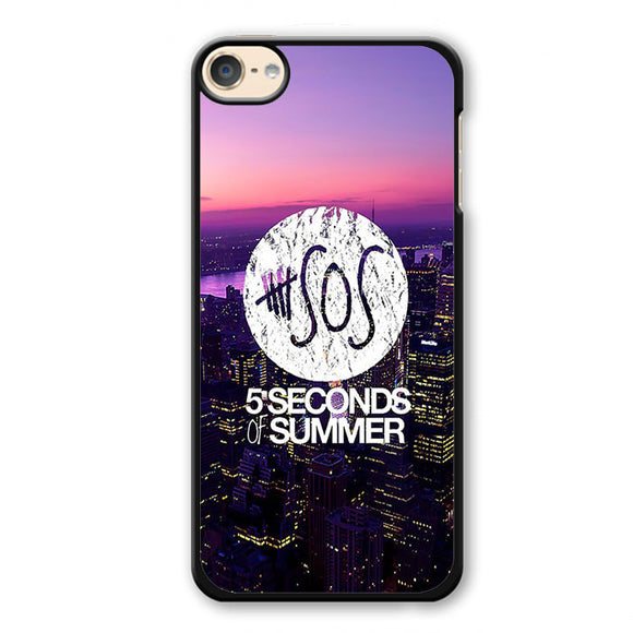 5 Seconds Of Summer City Logo Cool Phonecase Cover Case For Apple Ipod 4 Ipod 5 Ipod 6 - tatumcase