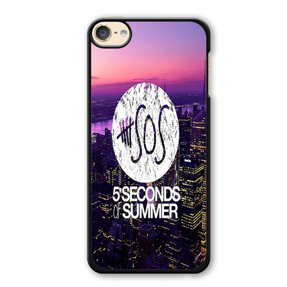 5 seconds of summer city logo TATUM-80 Apple Phonecase Cover For Ipod Touch 4, Ipod Touch 5, Ipod Touch 6 - tatumcase