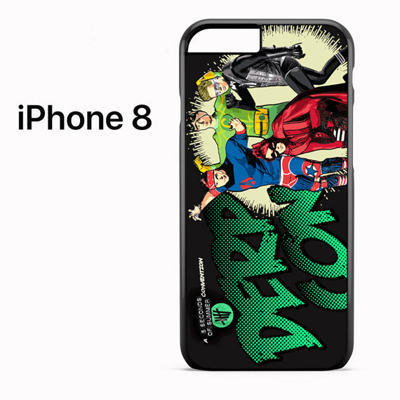 5 seconds of summer heroes - iPhone 8 Case - Tatumcase