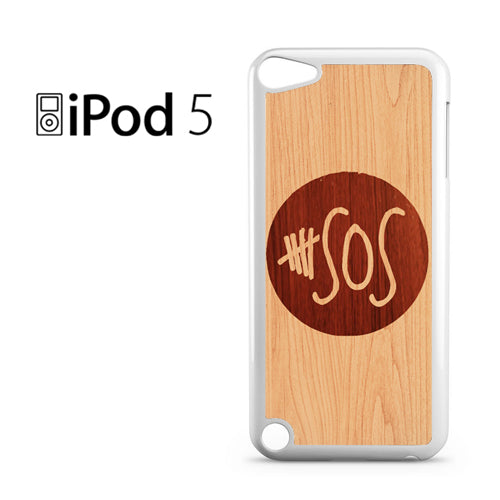 5 seconds of summer wood - iPod 5 Case - Tatumcase