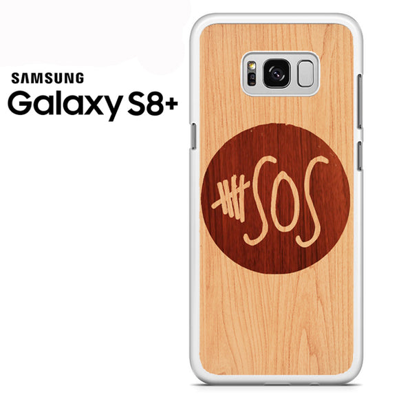 5 seconds of summer wood - Samsung Galaxy S8 Plus Case - Tatumcase
