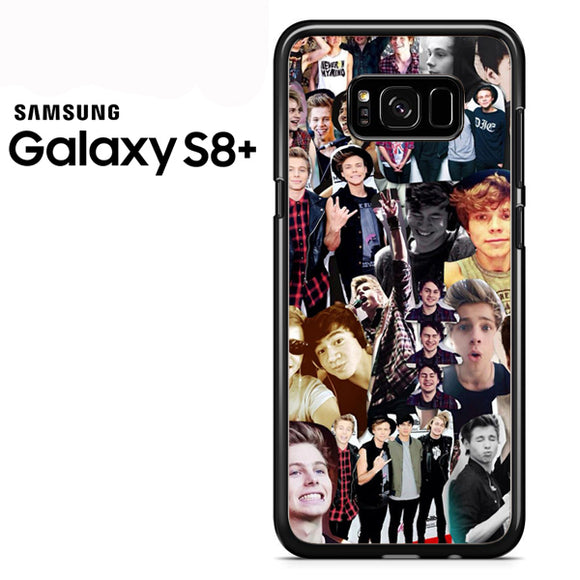 5 sos collage (2) - Samsung Galaxy S8 Plus Case - Tatumcase