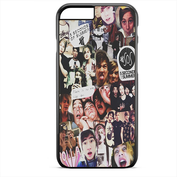 5 Sos Collage Phonecase For Iphone 4/4S Iphone 5/5S Iphone 5C Iphone 6 Iphone 6S Iphone 6 Plus Iphone 6S Plus - tatumcase