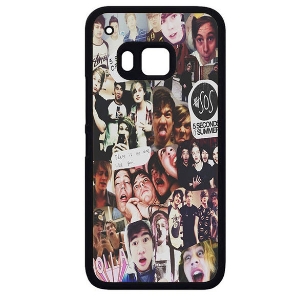 5 Sos CollagePhonecase Cover Case For HTC One M7 HTC One M8 HTC One M9 HTC ONe X - tatumcase