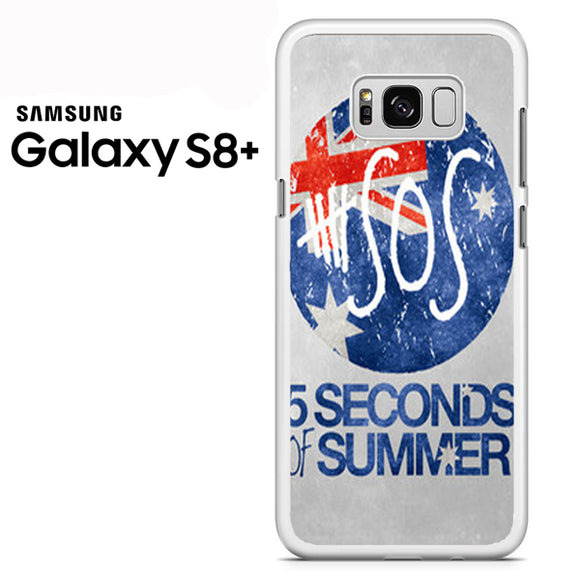 5 sos flag - Samsung Galaxy S8 Plus Case - Tatumcase
