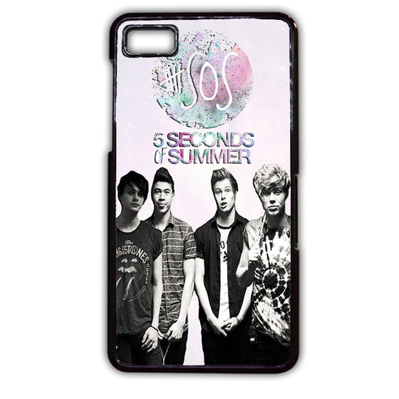 5seconds Of Summer 5 SOS TATUM-138 Blackberry Phonecase Cover For Blackberry Q10, Blackberry Z10 - tatumcase