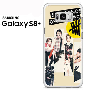 5seconds of summer music band - Samsung Galaxy S8 Plus Case - Tatumcase