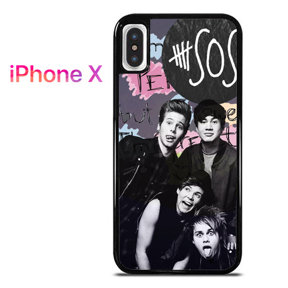 5seconds of summer - iPhone X Case - Tatumcase