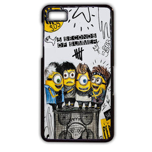 5sos Minion TATUM-149 Blackberry Phonecase Cover For Blackberry Q10, Blackberry Z10 - tatumcase