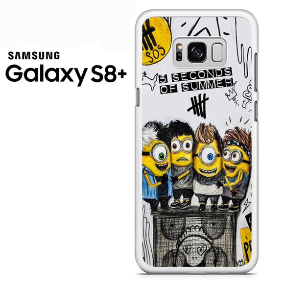5sos minion - Samsung Galaxy S8 Plus Case - Tatumcase