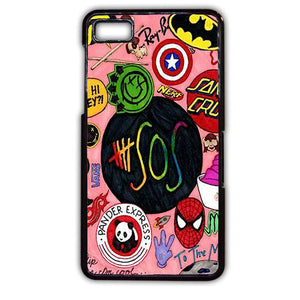 5sos She Looks So Perfect TATUM-151 Blackberry Phonecase Cover For Blackberry Q10, Blackberry Z10 - tatumcase