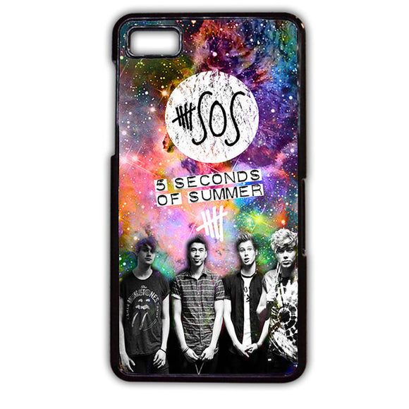 5 Second Of Summer Nebula TATUM-67 Blackberry Phonecase Cover For Blackberry Q10, Blackberry Z10 - tatumcase