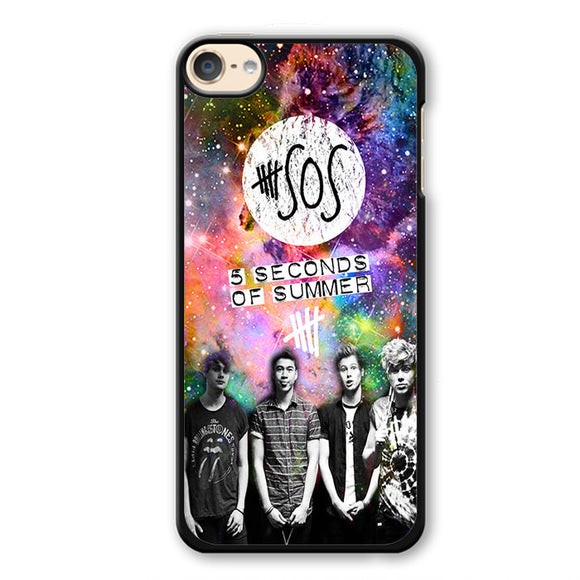 5 Second Of Summer Nebula TATUM-67 Apple Phonecase Cover For Ipod Touch 4, Ipod Touch 5, Ipod Touch 6 - tatumcase