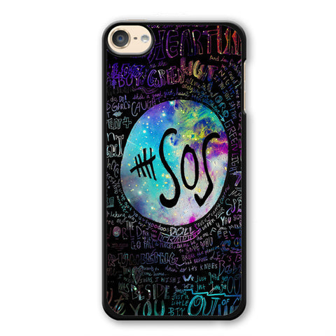 5 Seconds Of Summer 5sos Quote Galaxy TATUM-71 Apple Phonecase Cover For Ipod Touch 4, Ipod Touch 5, Ipod Touch 6