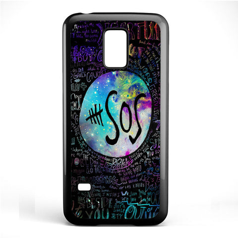 5 Seconds Of Summer 5sos Quote Galaxy TATUM-71 Samsung Phonecase Cover Samsung Galaxy S3 Mini Galaxy S4 Mini Galaxy S5 Mini