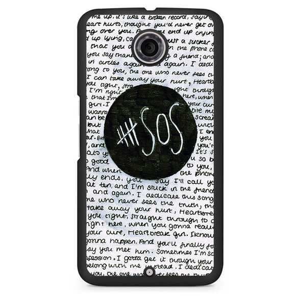 5 Seconds Of Summer Band Quotes TATUM-79 Google Phonecase Cover For Nexus 4, Nexus 5, Nexus 6 - tatumcase