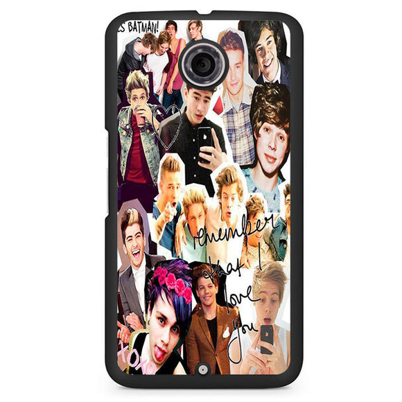 5 Seconds Of Summer Crew Collage TATUM-84 Google Phonecase Cover For Nexus 4, Nexus 5, Nexus 6 - tatumcase
