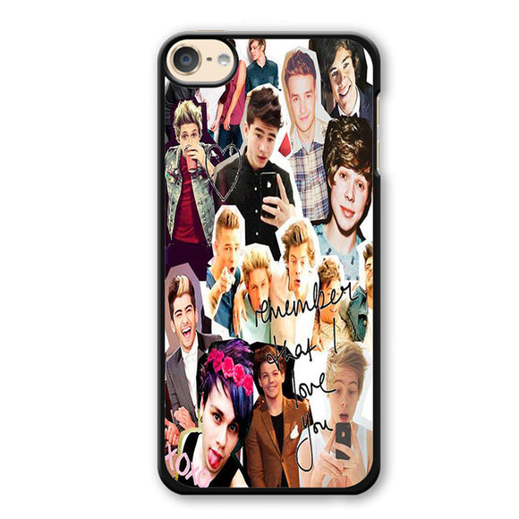 5 Seconds Of Summer Crew Collage TATUM-84 Apple Phonecase Cover For Ipod Touch 4, Ipod Touch 5, Ipod Touch 6 - tatumcase