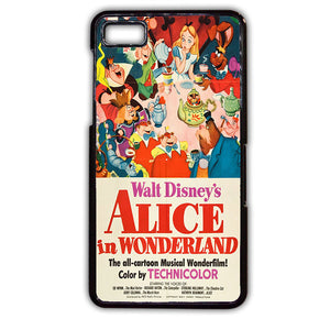 Alice In Wonderland 1951 TATUM-506 Blackberry Phonecase Cover For Blackberry Q10, Blackberry Z10 - tatumcase