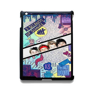 5 Seconds Of Summer Background TATUM-77 Apple Phonecase Cover For Ipad 2/3/4, Ipad Mini 2/3/4, Ipad Air, Ipad Air 2 - tatumcase
