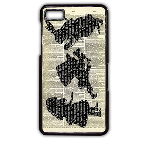 Alice Book TATUM-487 Blackberry Phonecase Cover For Blackberry Q10, Blackberry Z10 - tatumcase