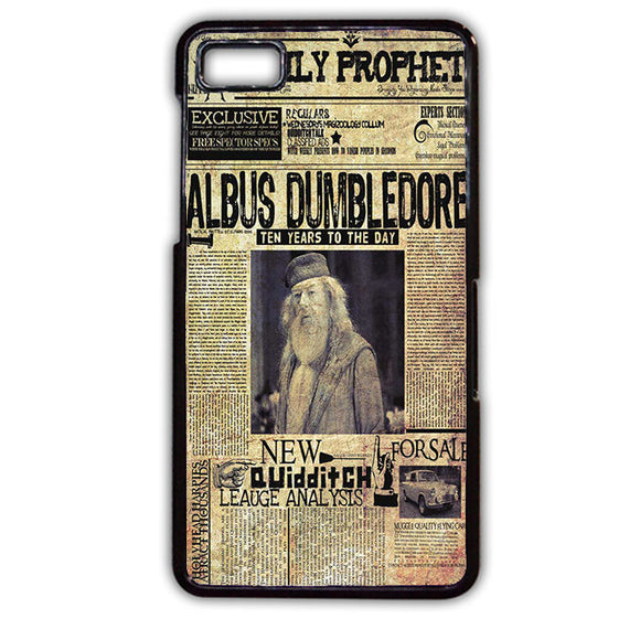 Albus Dumbledore TATUM-452 Blackberry Phonecase Cover For Blackberry Q10, Blackberry Z10 - tatumcase