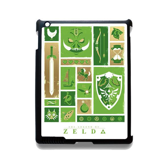 Zelda Starter Pack TATUM-12210 Apple Phonecase Cover For Ipad 2/3/4, Ipad Mini 2/3/4, Ipad Air, Ipad Air 2