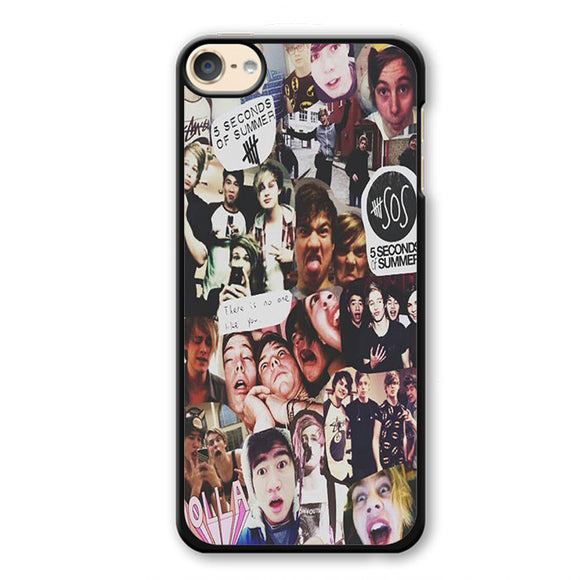 5 Seconds Of Summer Collage TATUM-83 Apple Phonecase Cover For Ipod Touch 4, Ipod Touch 5, Ipod Touch 6 - tatumcase