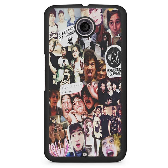 5 Seconds Of Summer Collage TATUM-83 Google Phonecase Cover For Nexus 4, Nexus 5, Nexus 6 - tatumcase