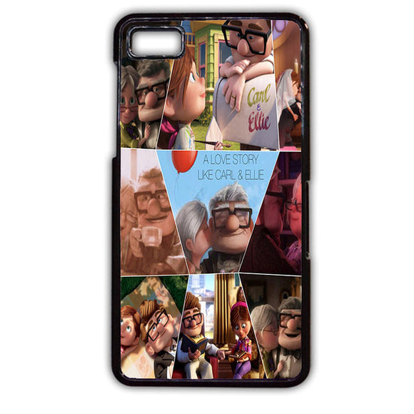 A Love Story Carl And Ellie Up Movie TATUM-190 Blackberry Phonecase Cover For Blackberry Q10, Blackberry Z10 - tatumcase