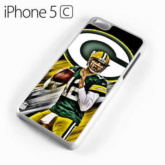 Aaron Rodgers Greenbay Packers - iPhone 5C Case - Tatumcase
