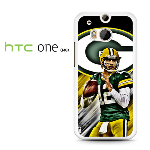 Aaron Rodgers Greenbay Packers - HTC M8 Case - Tatumcase