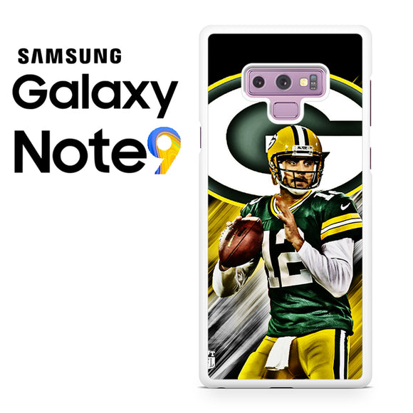 Aaron Rodgers Greenbay Packers - Samsung Galaxy NOTE 9 Case - Tatumcase