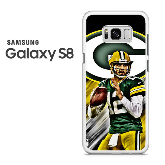 Aaron Rodgers Greenbay Packers - Samsung Galaxy S8 Case - Tatumcase
