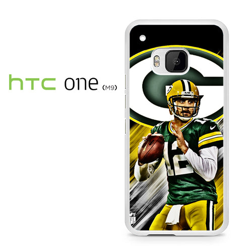 Aaron Rodgers Greenbay Packers - HTC ONE M9 Case - Tatumcase