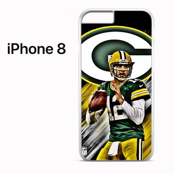 Aaron Rodgers Greenbay Packers - iPhone 8 Case - Tatumcase