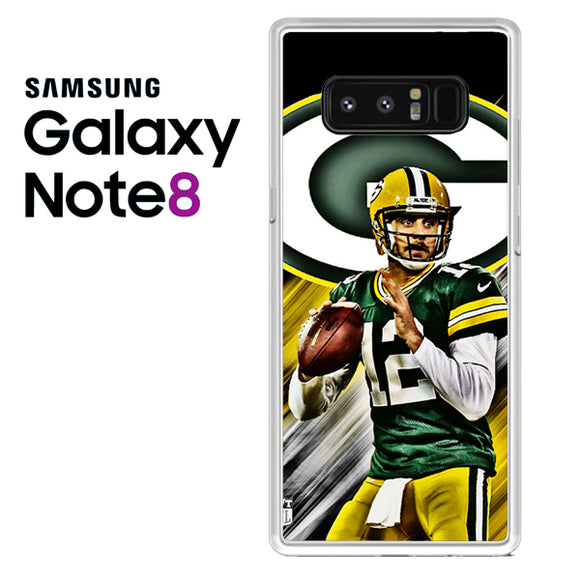 Aaron Rodgers Greenbay Packers - Samsung Galaxy Note 8 Case - Tatumcase