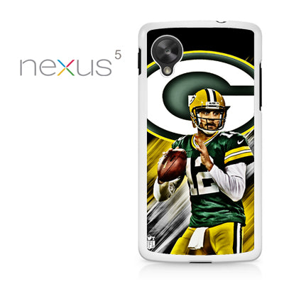 Aaron Rodgers Greenbay Packers - Nexus 5 Case - Tatumcase