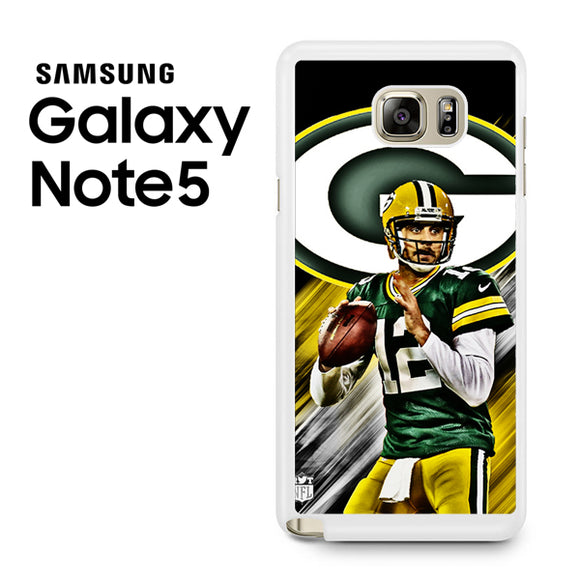 Aaron Rodgers Greenbay Packers - Samsung Galaxy Note 5 Case - Tatumcase