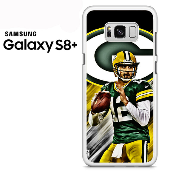 Aaron Rodgers Greenbay Packers - Samsung Galaxy S8 Plus Case - Tatumcase