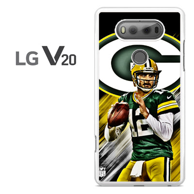 Aaron Rodgers Greenbay Packers - LG V20 Case - Tatumcase