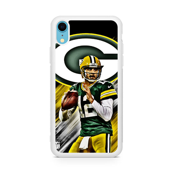 Aaron Rodgers Greenbay Packers,Custom Phone Case, iPhone XR Case, Tatumcase