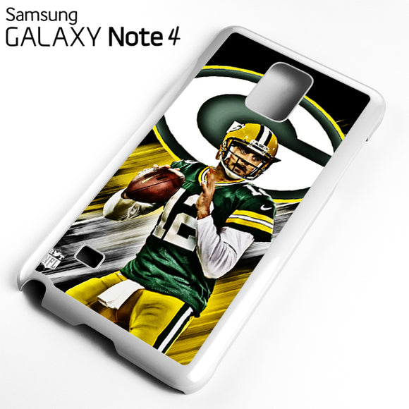 Aaron Rodgers Greenbay Packers - Samsung Galaxy Note 4 Case - Tatumcase