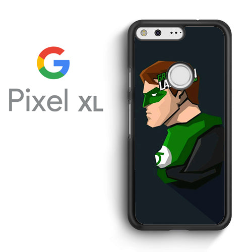 Abstract Arts Green Lantern as Hal Jordan - - Google Pixel XL Case - Tatumcase