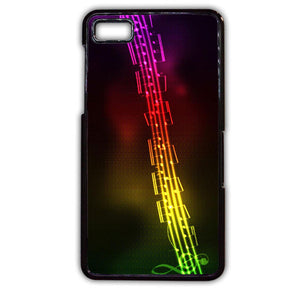Abstract Music Background Love Music TATUM-230 Blackberry Phonecase Cover For Blackberry Q10, Blackberry Z10 - tatumcase