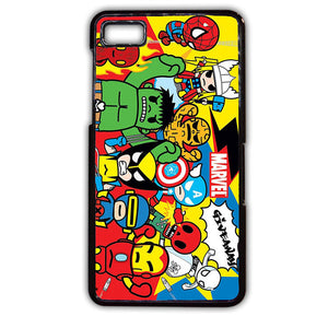 Action Marvel Assamble TATUM-241 Blackberry Phonecase Cover For Blackberry Q10, Blackberry Z10 - tatumcase